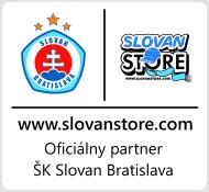 Slovanstore je oficialny partner SK Slovan