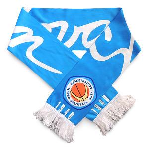 BK Slovan pleteno-tlačený šál