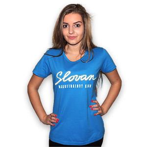 BK Slovan dámske tričko