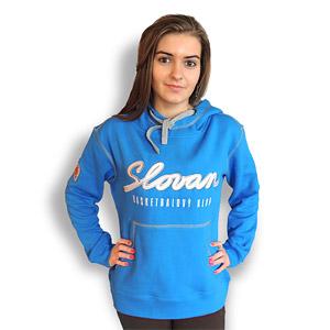 BK Slovan blue hoddie for woman