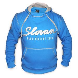 BK Slovan blue hoddie