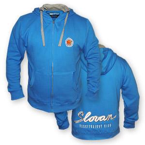 BK Slovan hoodie with zipper