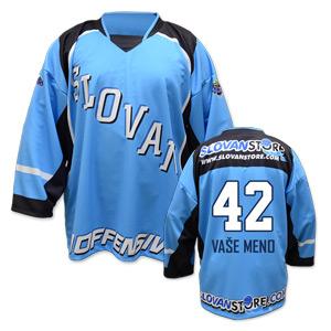 HBT Slovan fans hokejbalový belasý dres