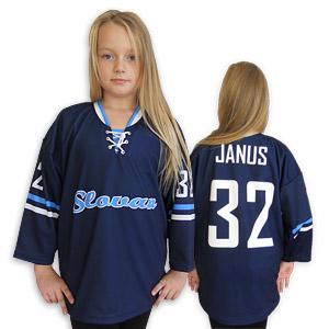 Hockey jersey Slovan blue-light blue junior