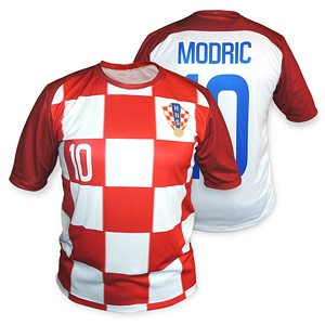 Football jersey Czech red