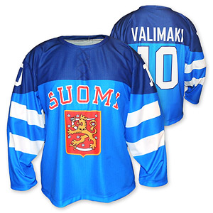 Hockey jersey Finnland blue