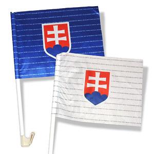 Slovakia flag for car 2014