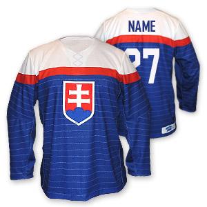 Slovakia authentic olympijský hokejový dres modrý
