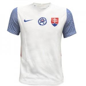 27e75040dd776 Slovakia biely Authentic futbalový dres NIKE 2018/19 s menom a číslom