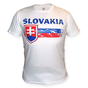 Slovakia modré tričko