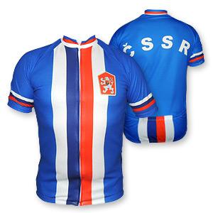 a58cdcbd37301 Retro cyklo dres ČSSR - Slovan Fanshop