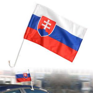 Slovakia vlajka na auto