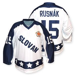 Retro ice hockey jersey Slovan 1986