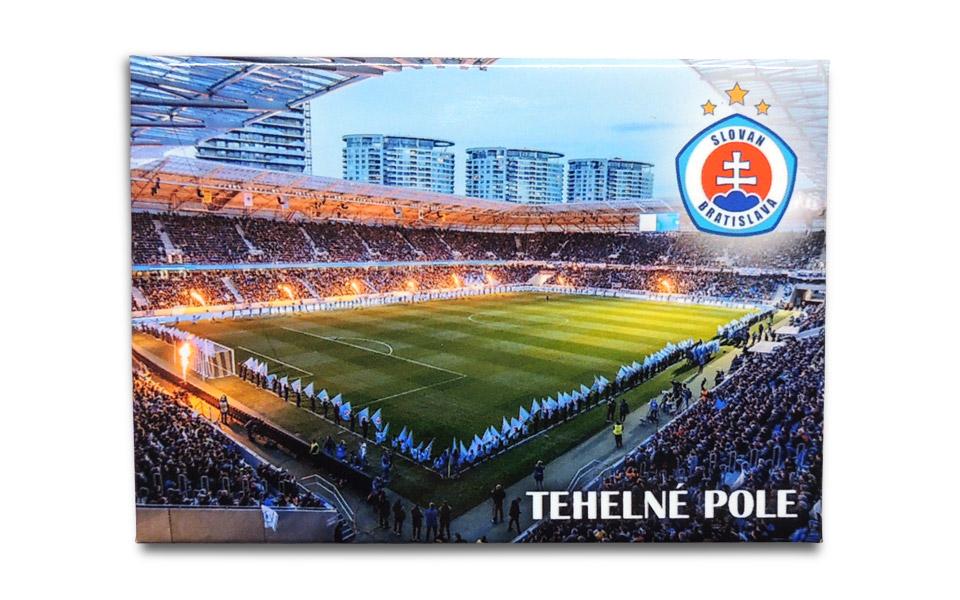 0169b4b0d5b4c ŠK Slovan - ŠK Slovan Bratislava magnet Tehelné Pole III. - Slovan Fanshop