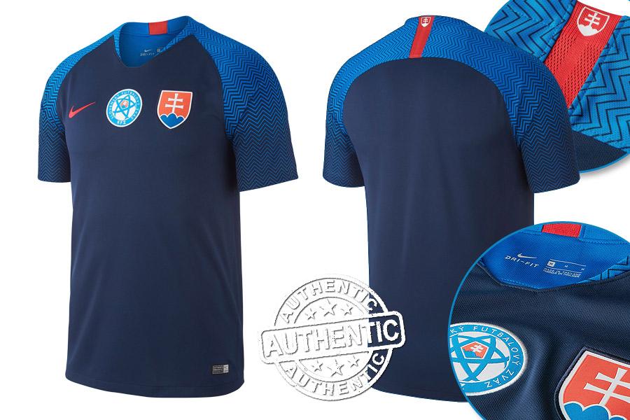 low priced f631f b6897 Slovakia blue ice hockey jersey with state anthem