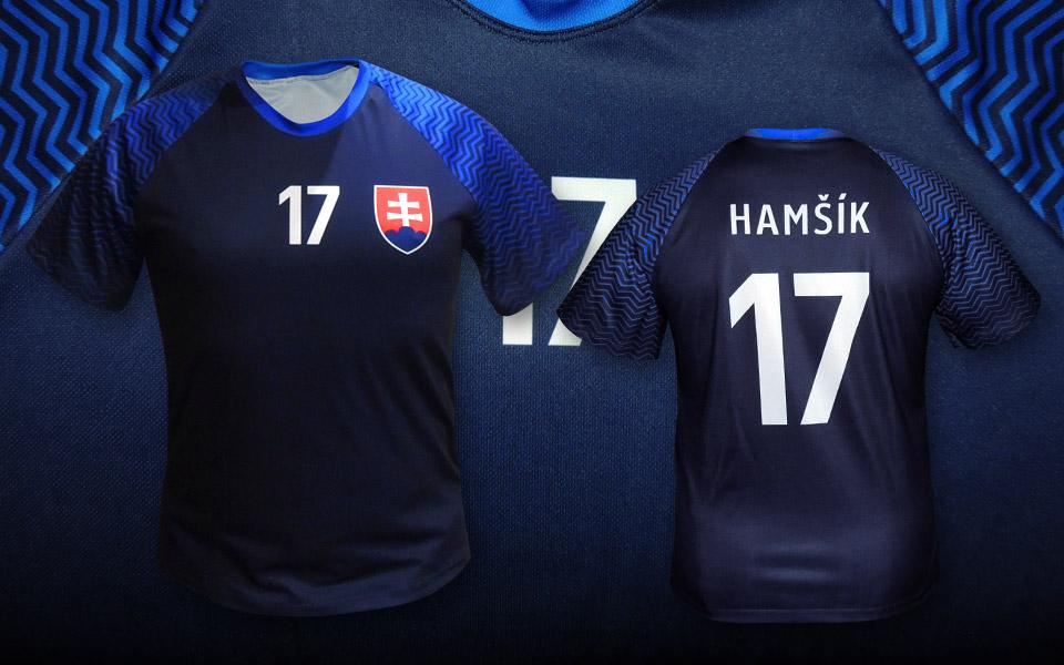 4917dcb6f5a58 Slovakia futbalový fan dres biely ...