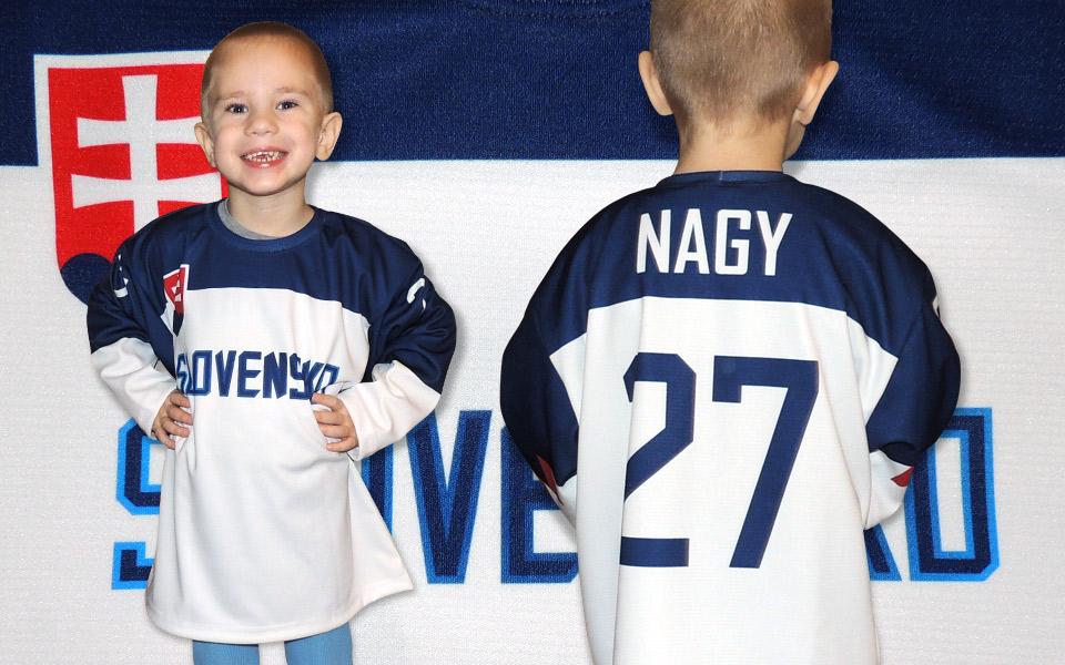 e50bcdf9676f9 Slovakia detský hokejový dres 2019 modrý-znak