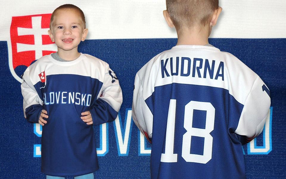 c4c450f5e0964 Slovakia detský hokejový olympijsky dres 2018 biely-napis. Slovakia ...