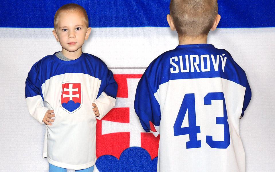 e82d3a6bbb5a8 Slovakia biely hokejový dres junior s hymnou · Slovakia biely ...